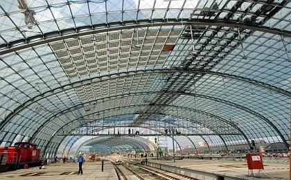 Neuer Berliner Hauptbahnhof: Streit um Deckengestaltung