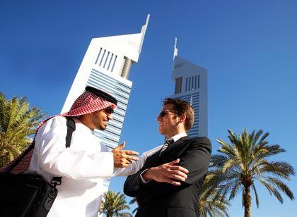 Großes Theater: Feilschen und Verhandeln ist in Arabien fast schon Volkssport