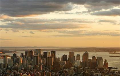 Sonnenuntergang: Um die US-Wirtschaft sieht momentan düster aus