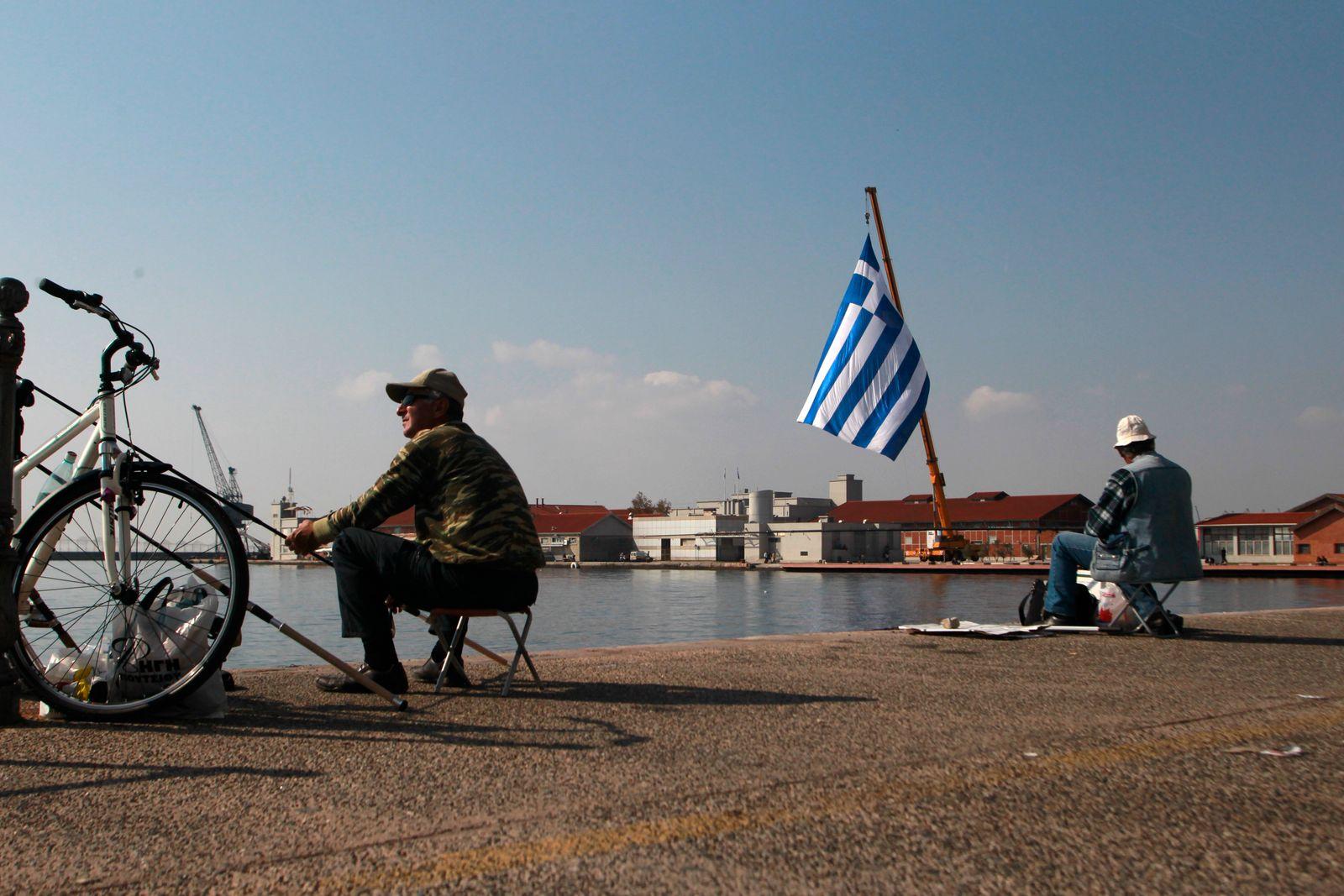 Griechenland/ Angler