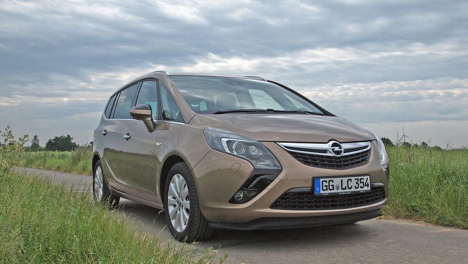 Brachte die Abgasdiskussion für Opel ins Rollen: Familienvan Zafira mit Dieselmotor