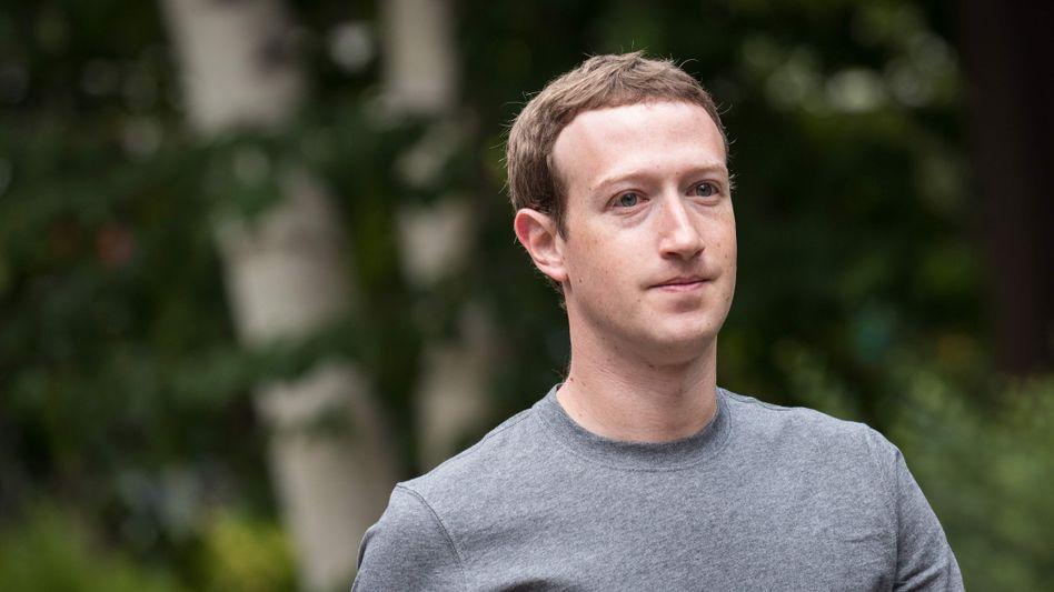 Facebook-Chef Zuckerberg: Gewinnsprung und Probleme mit Russland