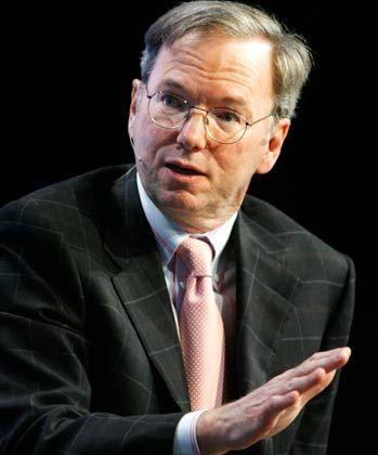 """Google-Chef Schmidt: """"Einvernehmliche Trennung"""""""