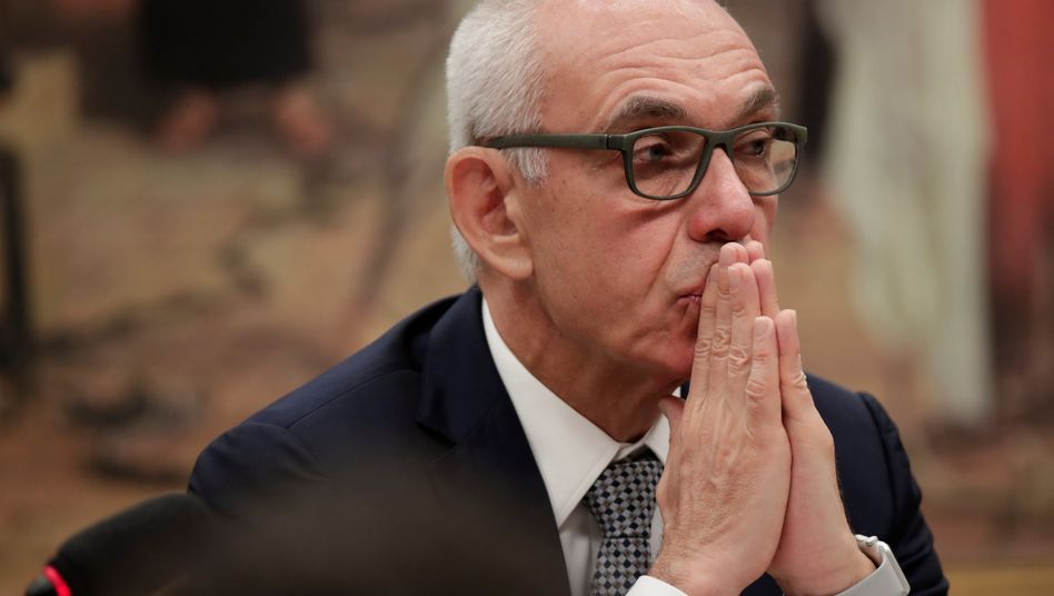 Ex-Vale-Chef Fabio Schvartsman (im Februar vor einem Untersuchungsausschuss des brasilianischen Parlaments)
