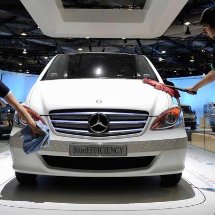 Harte Zeiten: Mercedes auf der IAA