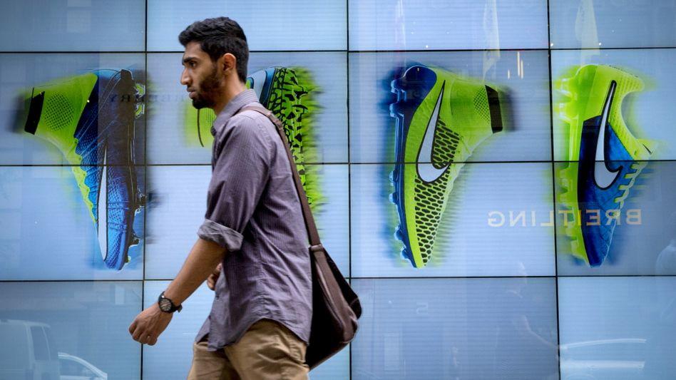 Nike-Laden in New York: Es läuft wieder besser