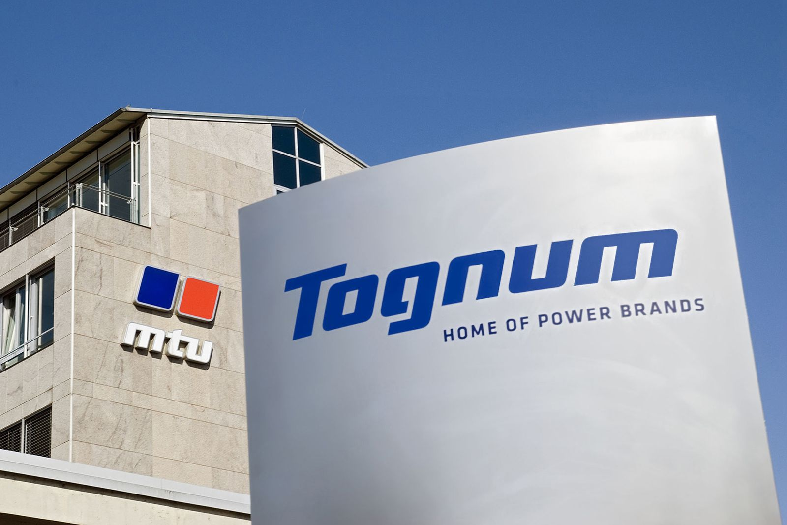 Tognum Logo / mtu