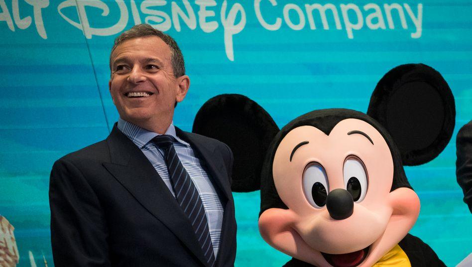König von Disneyland: Seine Erfolgsbilanz machte Bob Iger zu einem der bestbezahlten Unternehmenschefs der Welt.