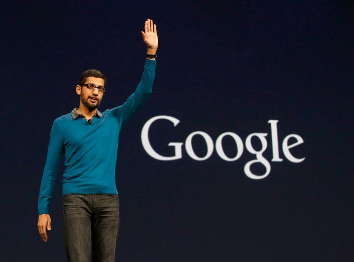 Google-Manager Sundar Pichai: Laut Thiel braucht das Silicon Valley nur die besten Fachkräfte, nicht irgendwelche Immigranten