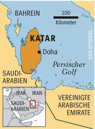 Katar: Kleine Halbinsel am Persischen Golf