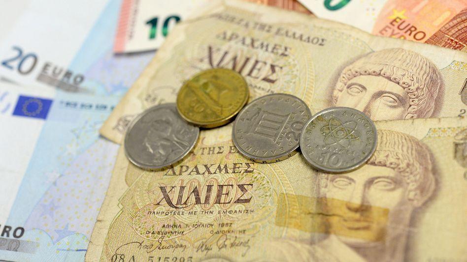 Historische Drachmen: Der Plan B zum Euro-Austritt ist wieder gefragt