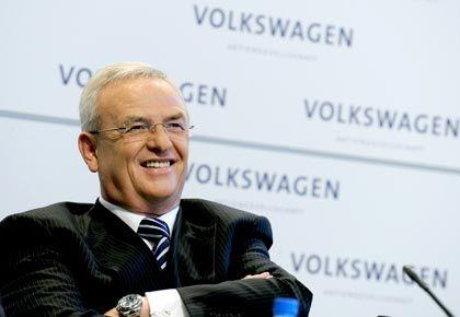 """VW-Chef Winterkorn: """"Ein Porsche muss ein Porsche bleiben"""""""