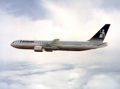 Abramowitsch' Verkehrsmittel: Eine Boeing 767 (Vergleichsobjekt)