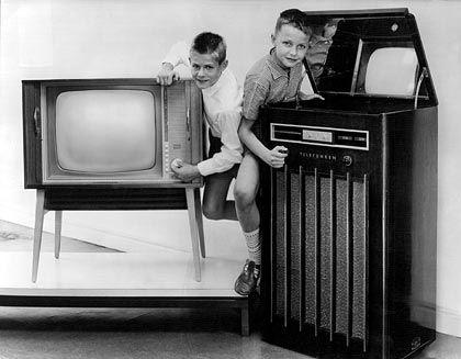 Unternehmen mit Tradition: Telefunken damals ...