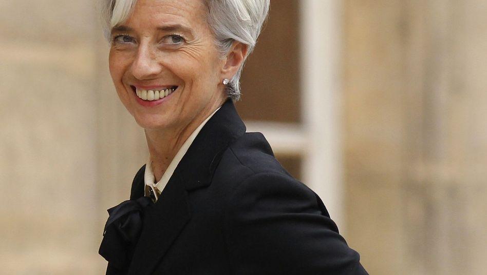 """Frankreichs Finanzministerin: """"Lagarde - das ist gelaufen"""""""