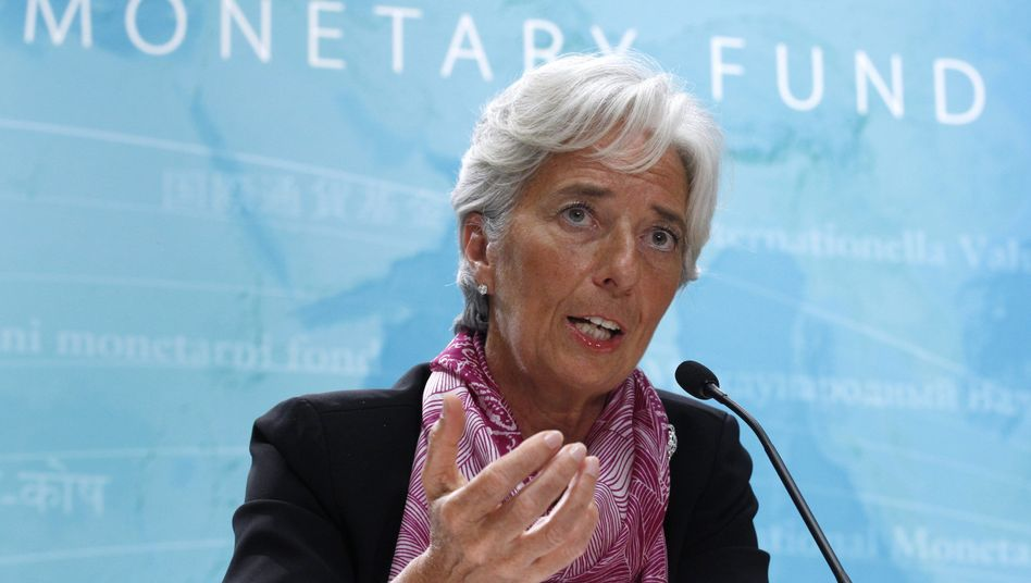 IWF-Chefin Christine Lagarde: Bald mehr Kapital zur Euro-Krisenbekämpfung?