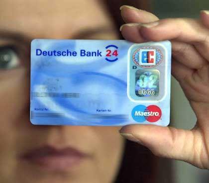 Beliebtes Zahlungsmittel, aber wehe die EC-Karte wird geklaut