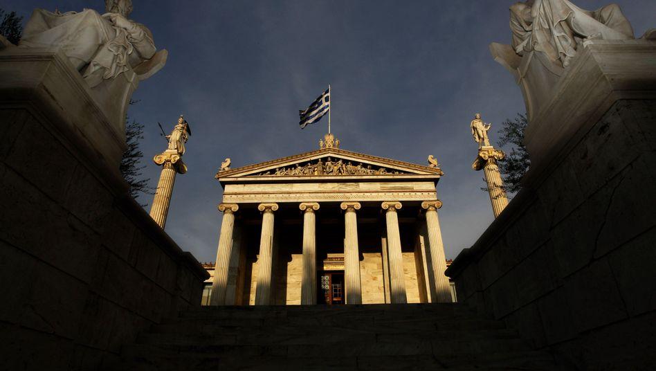 Düstere Perspektiven: Lehnen die Griechen die internationalen Hilfen und die damit verbundenen Sparbeschlüsse ab, dürfte das drastische Konsequenzen haben, bis hin zur möglichen unmittelbaren Staatspleite