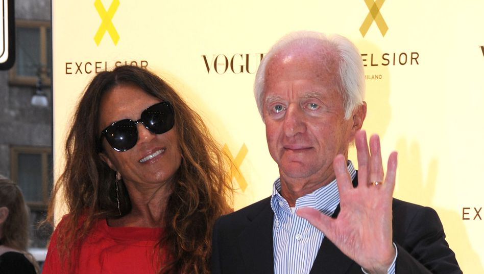 Umtriebig: Leo Del Vecchio (hier mit seiner Ehefrau Nicoletta Zampillo) hat zunehmend Spaß am Investmentbanking
