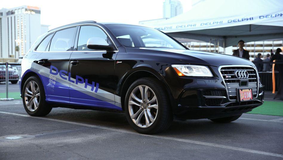 Selbstfahrender Audi Q5