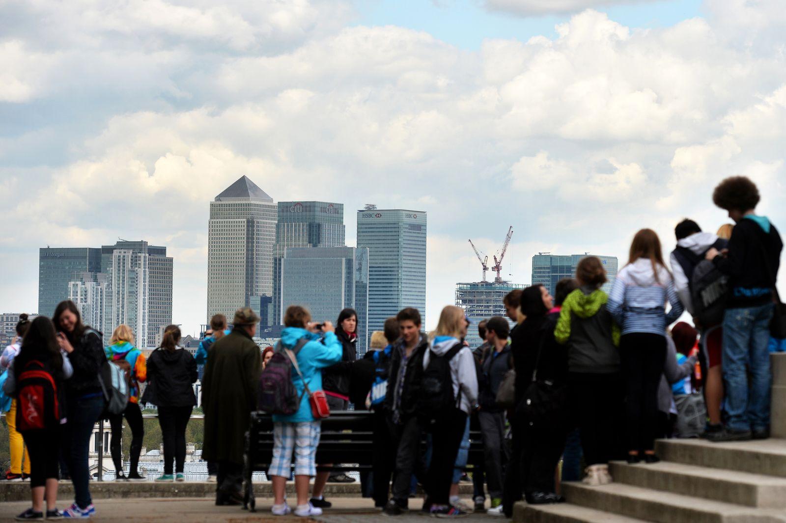 England / London / Banken-Viertel / Banken / Banker / Finanz-sektor /
