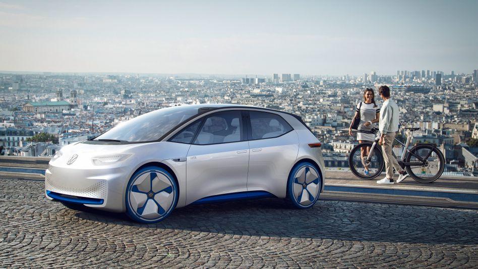"""Die Elektroautostudie I.D. ist die Basis für den Golf-ähnlichen Stromer """"Neo"""", den VW ab 2020 verkauft"""