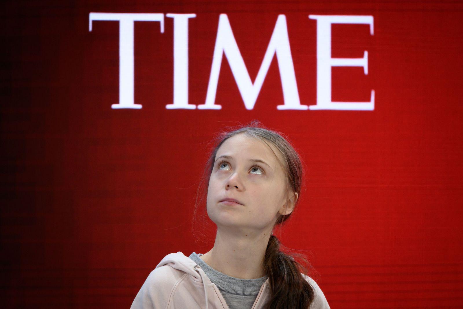 Greta Thunberg / Davos