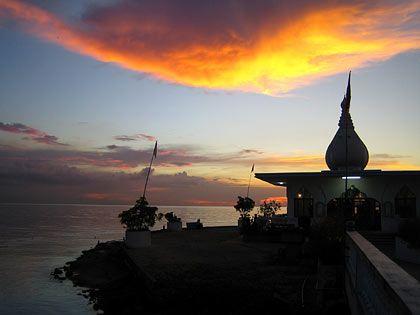 Heiligtum: Ein Hindu-Tempel bei Waterloo auf Trinidad