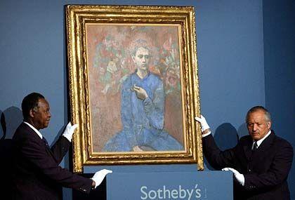 """""""Picasso ist eben der Spitzenmann"""": """"Garcon à la Pipe"""" im Autkionshaus Sotheby's"""