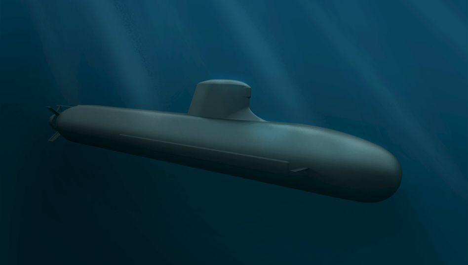DCNS-Entwurf für die Australische Marine: Die Franzosen haben das Rennen um einen gut 35 Milliarden Euro schweren U-Boot-Auftrag gewonnen. Die Rüstungssparte von ThyssenKrupp ging leer aus.