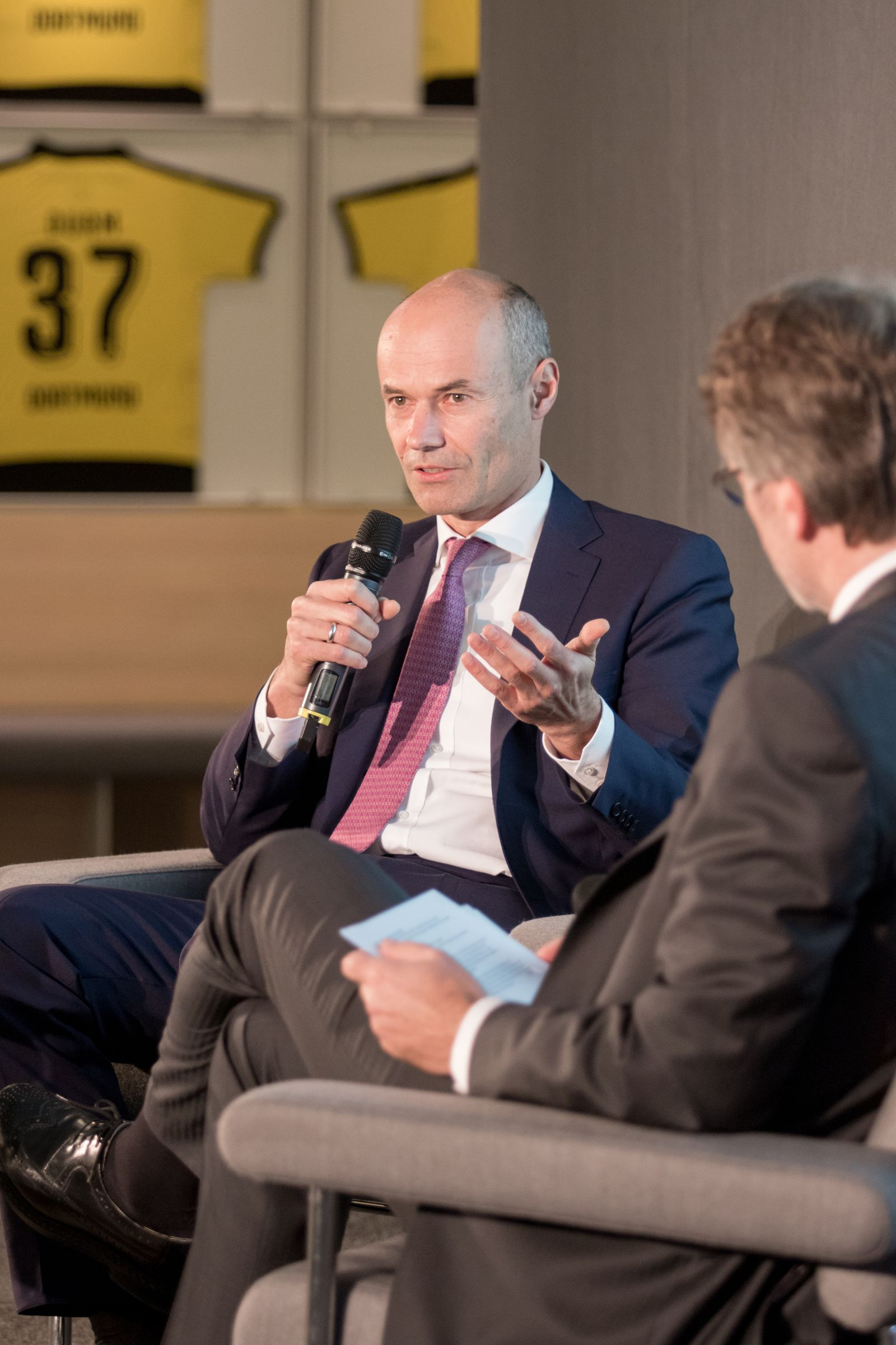 EINMALIGE VERWENDUNG Markus Schenck, Finanzvorstand Deutsche Bank