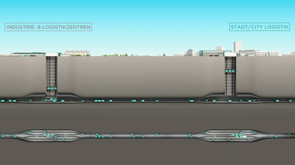 Cargo Sous Terrain: So funktioniert das Schweizer Tunnel-Projekt