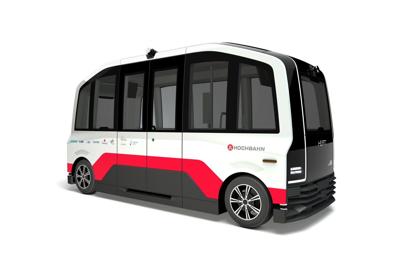 Visualisierung HEAT / E-Busse / Hochbahn Hamburg