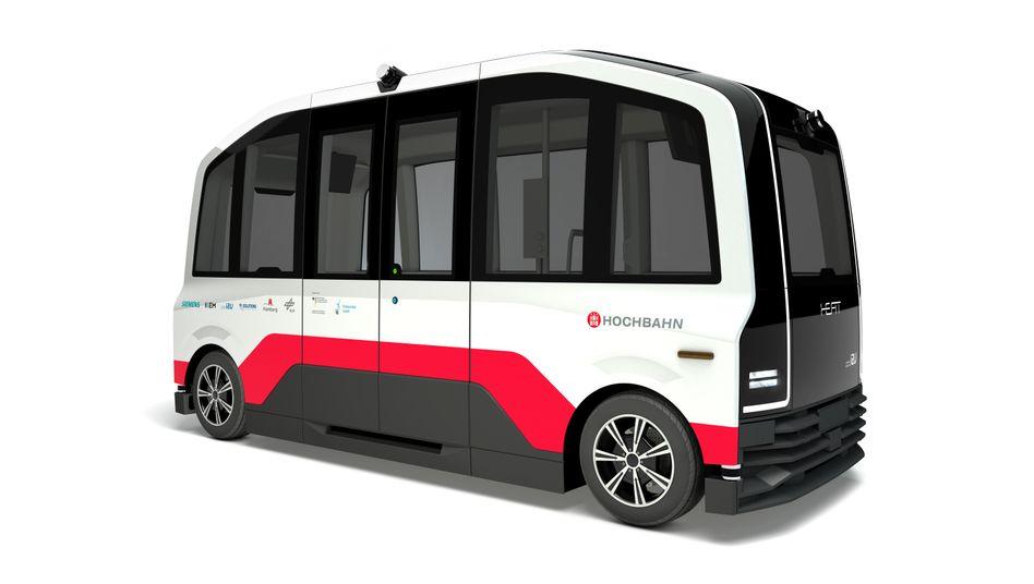 So könnten sie aussehen, die ersten autonom fahrenden Busse in Hamburg