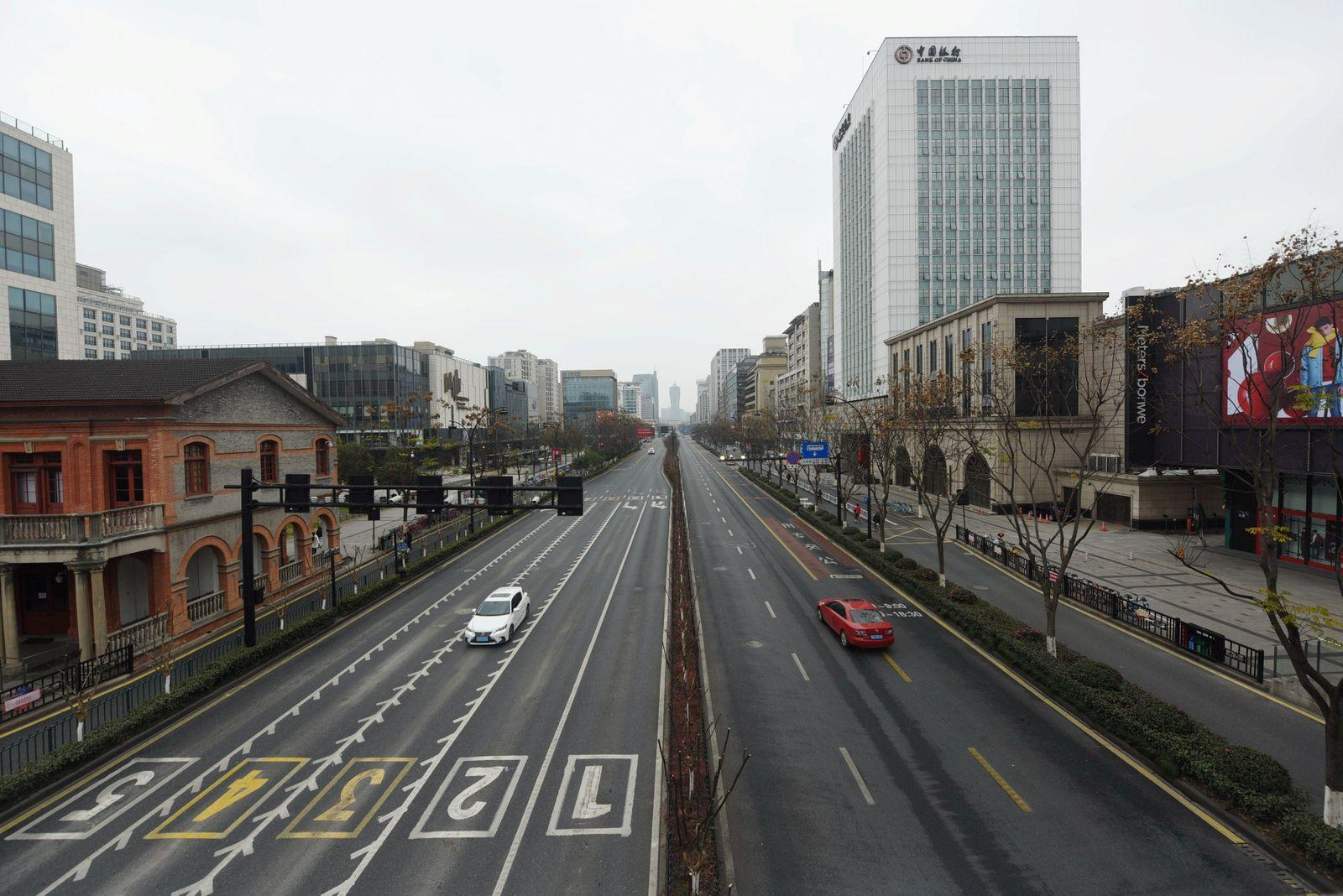 CHINA-HEALTH/ Straße
