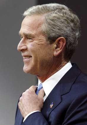 US-Präsident Bush: Sanftere Töne in der zweiten Amtszeit?