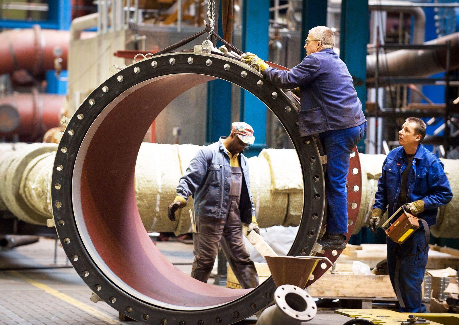 Deutschland / Konjunktur / Wirtschaft / Maschinenbau MAN Turbo