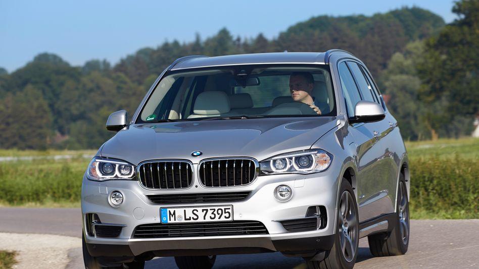 BMW X5: Mit SUVs wie diesem macht der Hersteller gute Geschäfte.