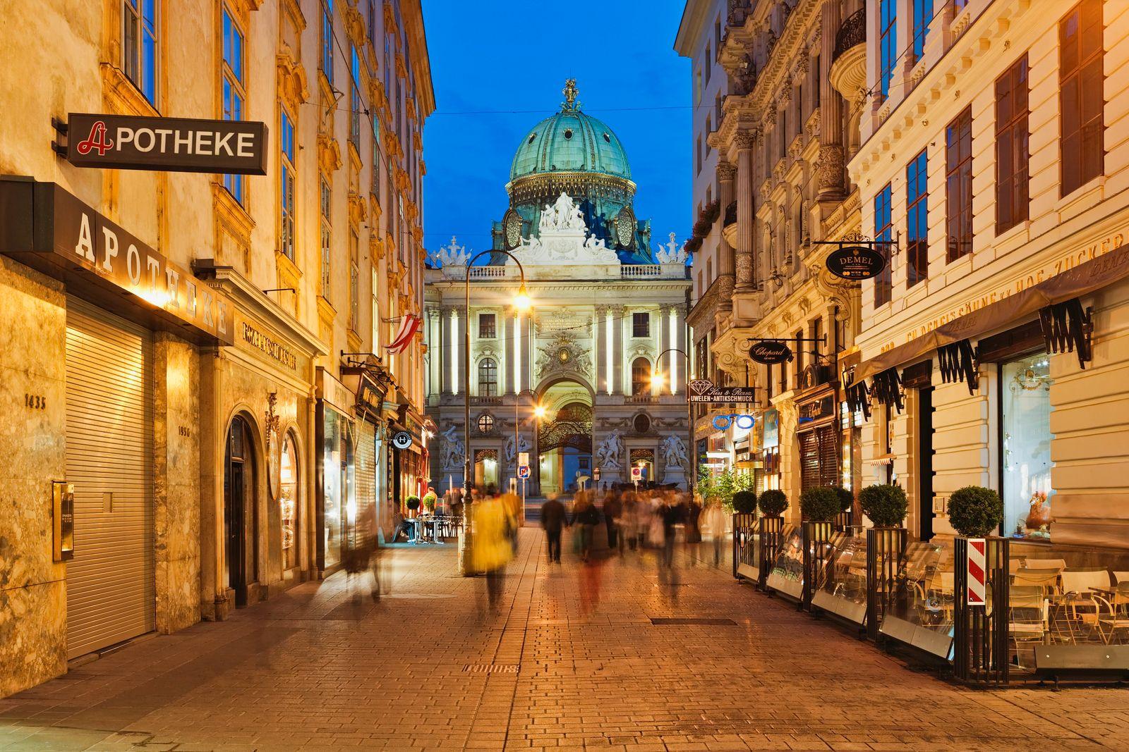 NICHT MEHR VERWENDEN! - Wien / Österreich / Kohlmarkt