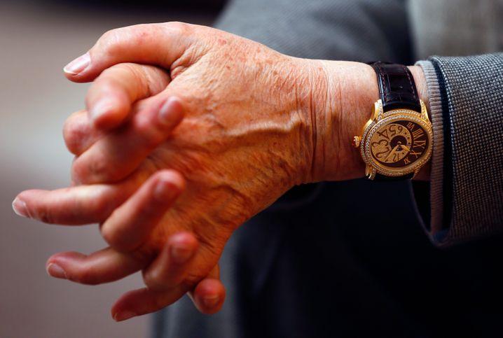 Edles am Arm: Im Bild eine Audemars Piguet.