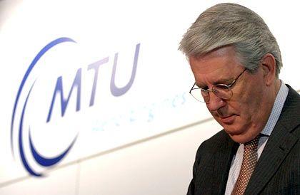 Geht Ende des Jahres: MTU-Chef Stark