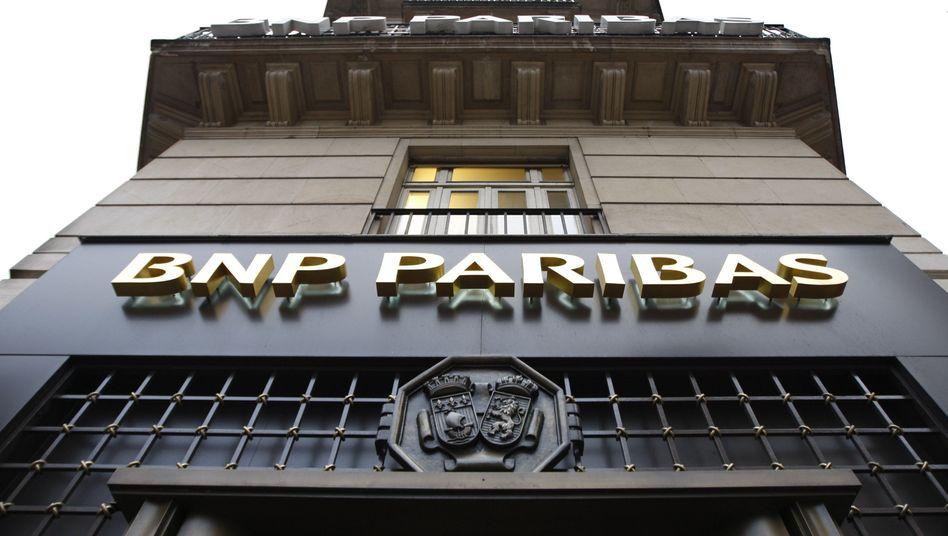 Probleme mit Griechenland: BNP Paribas muss mehr als500 Millionen Euro abschreiben