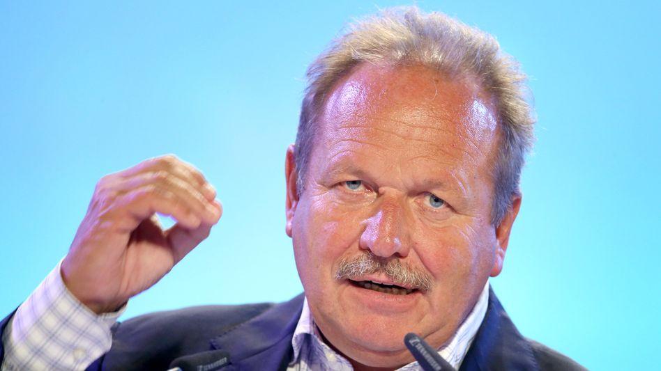 Will in den Bundestag: Ex-Verdi-Chef Frank Bsirske