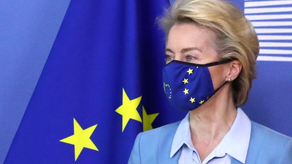 Bereit für Neues: EU-Kommissionschefin Ursula von der Leyen.
