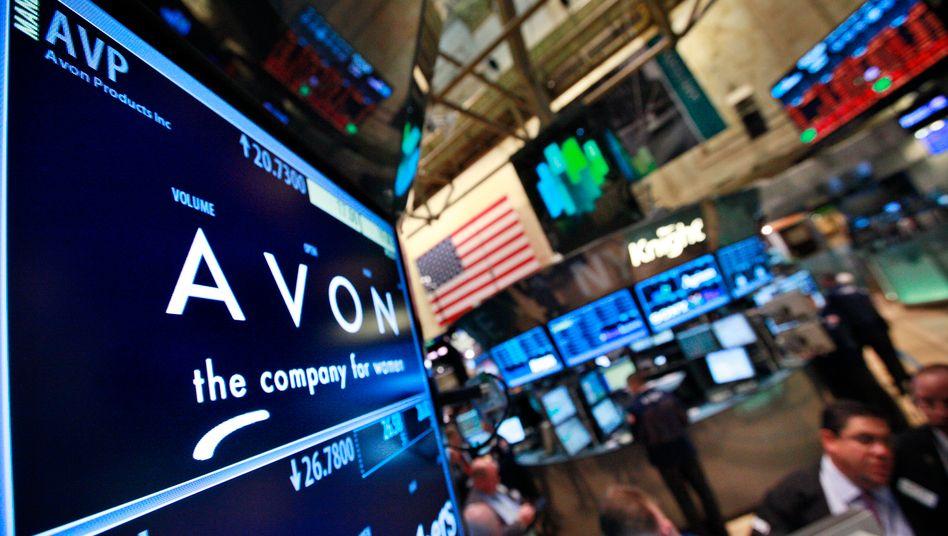 Avon an der New Yorker Börse: Coty wollte ursprünglich den Konzern übernehmen, zog das Angebot jedoch zurück - und hat neue Pläne