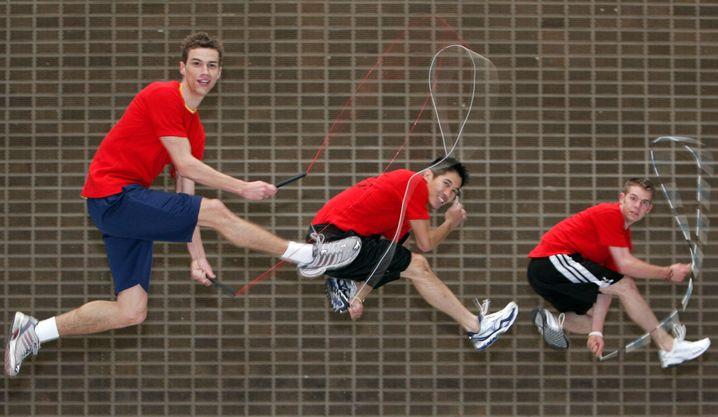 Extrem sportlich: Seilspringen fordert den ganzen Körper