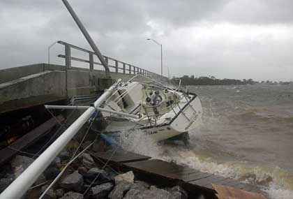 Schiffbruch bei Fort Walton Beach