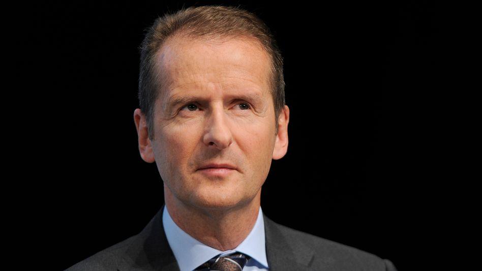 Der Neue bei Volkswagen: Herbert Diess leitet die Wolfsburger Stammmarke ab Sommer