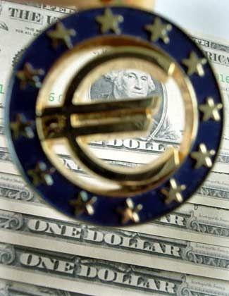 Ernsthafte Konkurrenz? Noch hält der Dollar seinen großen Vorsprung zum Euro