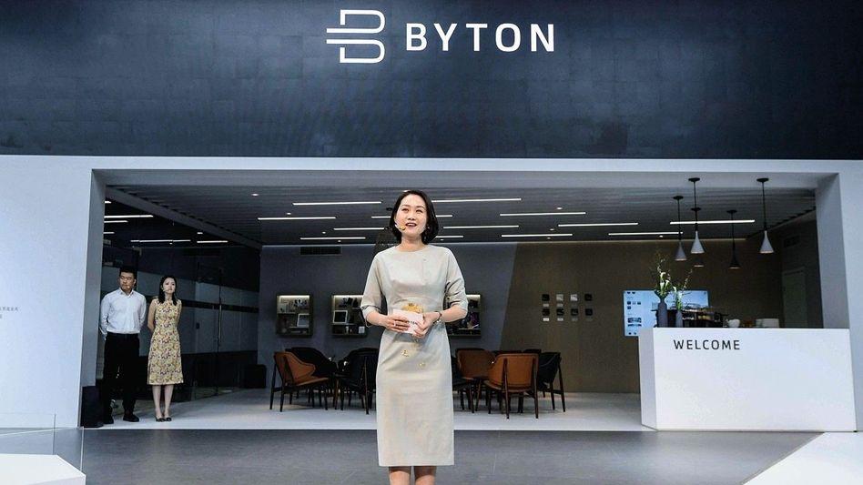 Machtwechsel:Bei Byton hat nunQingfen Dingdas Sagen